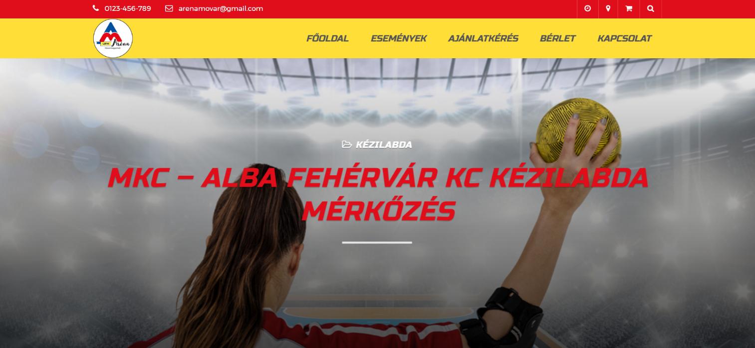 MKC – Alba Fehérvár KC Kézilabda mérkőzés
